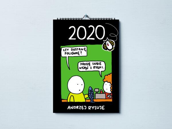 Kalendarz Andrzej Rysuje 2020