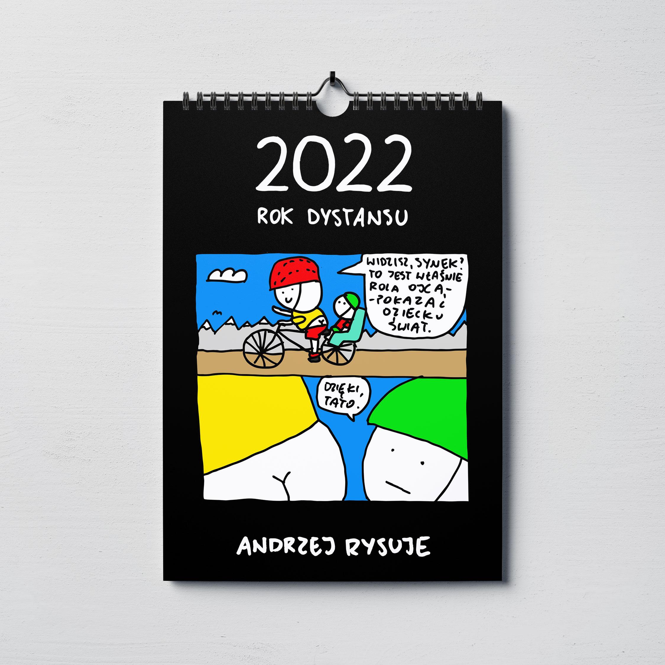 Kalendarz Andrzej Rysuje 2022